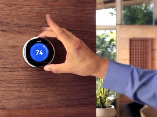 ELAN controls the Nest Thermostat